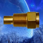 brass straight adaptor