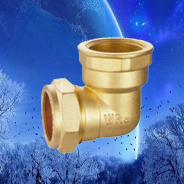 brass compression fittings elbow