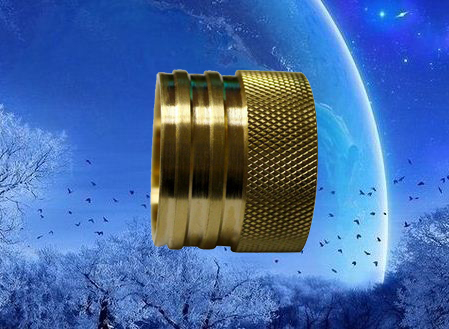 brass fittings with knurling
