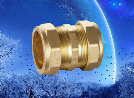 brass compression adaptor