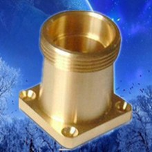 brass cnc milling components